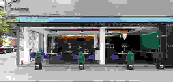 서래마을 카페드앙떼띠 인테리어 / BLANK Architects 모던스타일 주택 by 블랭크건축사사무소 모던