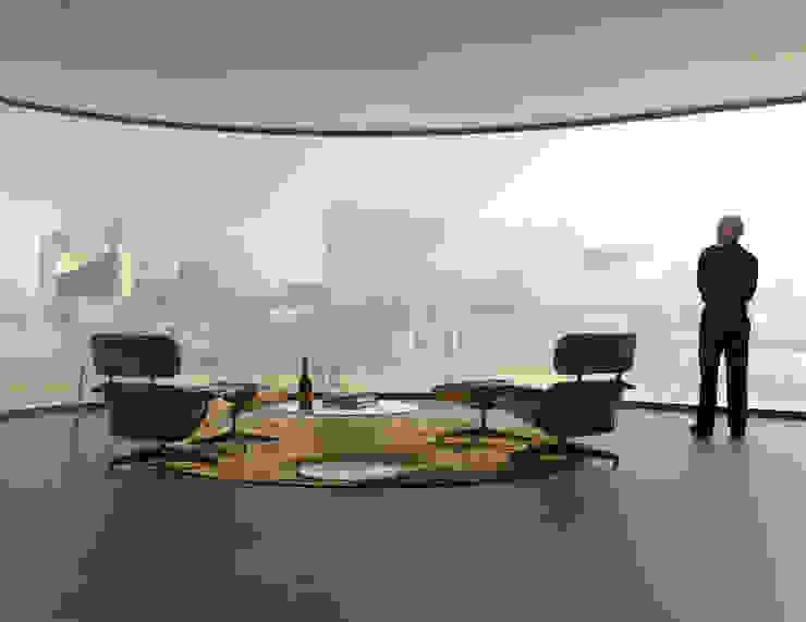 Salas de estilo moderno de Mei architects and planners Moderno