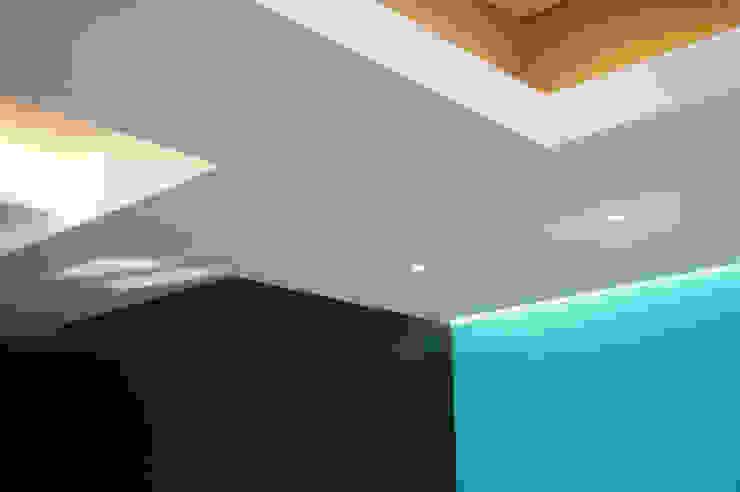 서래마을 카페드앙떼띠 인테리어 / BLANK Architects 모던스타일 거실 by 블랭크건축사사무소 모던