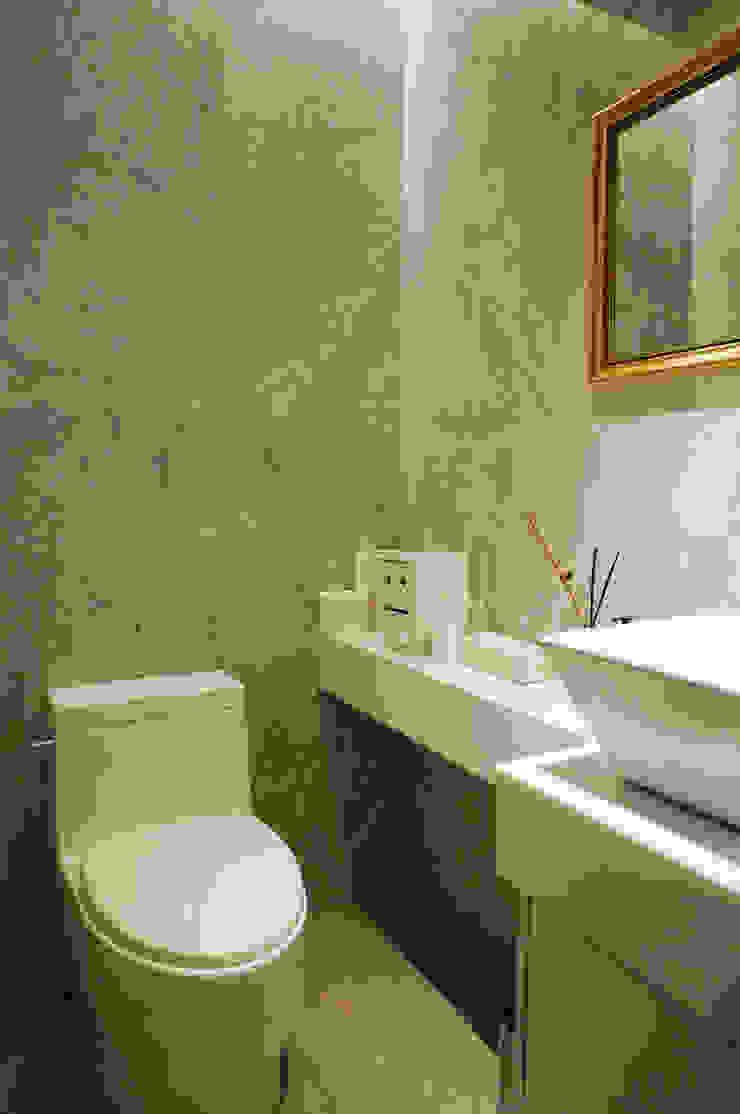 서래마을 카페드앙떼띠 인테리어 / BLANK Architects 모던스타일 욕실 by 블랭크건축사사무소 모던