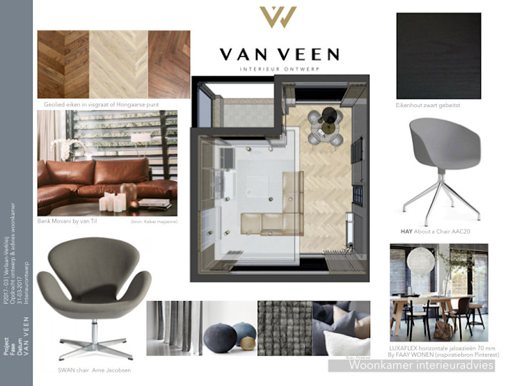 by VAN VEEN INTERIOR DESIGN Сучасний