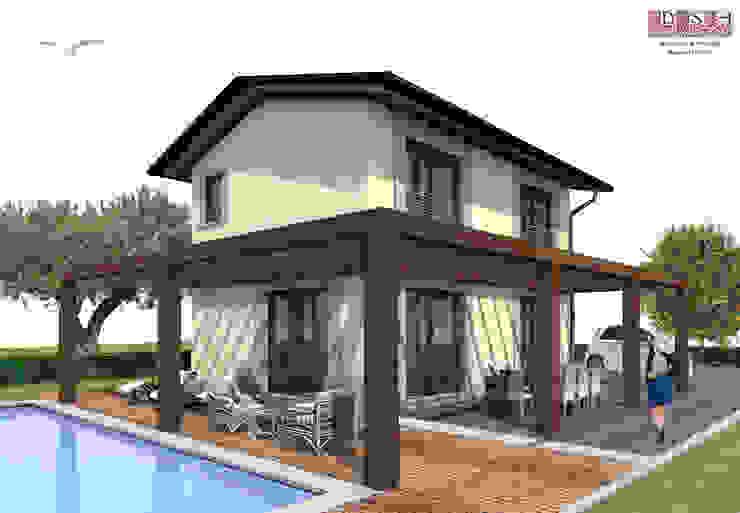 Casas de estilo mediterráneo de davide strambi architetto Mediterráneo