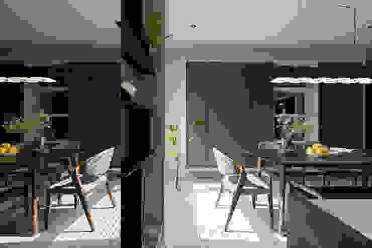 賀澤室內設計 HOZO_interior_design 隨意取材風玄關、階梯與走廊 根據 賀澤室內設計 HOZO_interior_design 隨意取材風