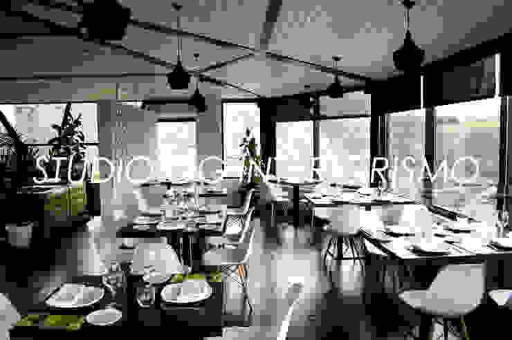 Restaurante de O Mirador Gastronomía de estilo moderno de STUDIO OG INTERIORISMO Moderno