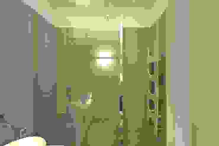 Luca Doveri Architetto - Studio di Architettura Baños de estilo minimalista