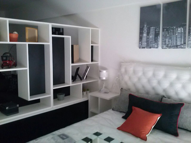 Bedroom by DOMOS DECORACION HOLISTICA