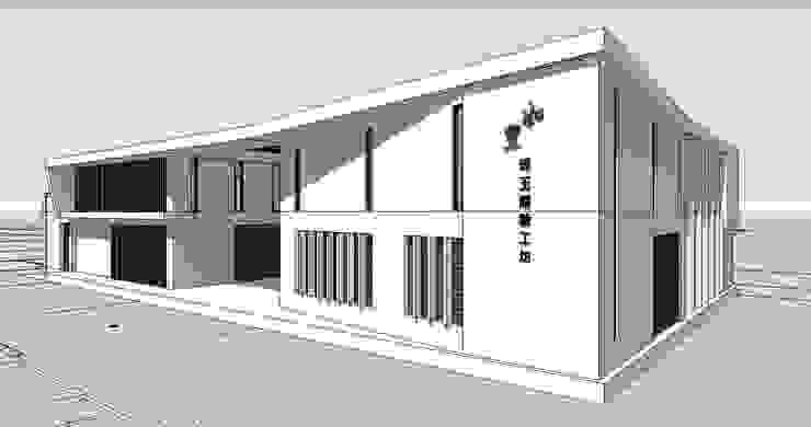 休閒農場設計 根據 馬瑞聰建築師事務所 簡約風 水泥
