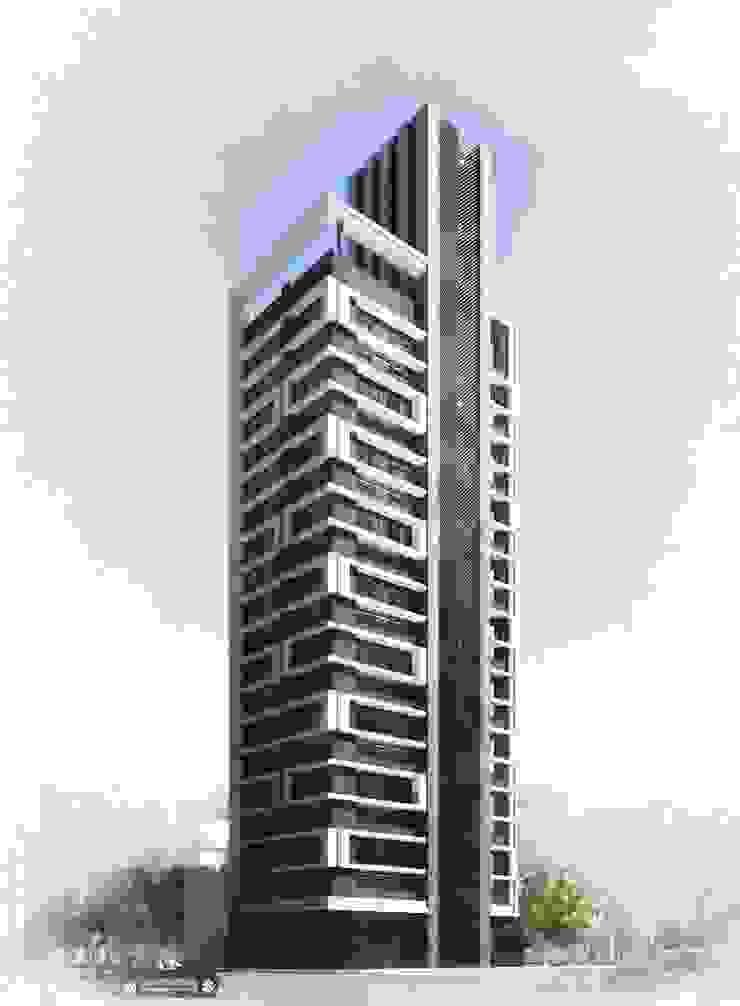 集合住宅設計案 根據 馬瑞聰建築師事務所 簡約風