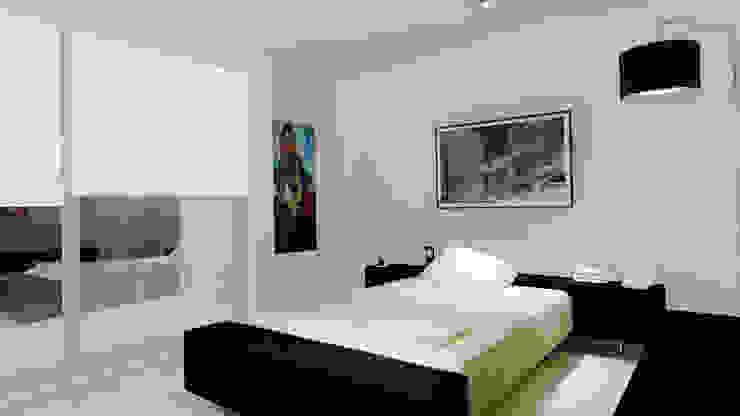 CouturierStudio Modern style bedroom