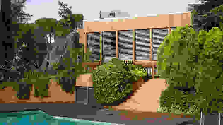 Modern home by RIBA MASSANELL S.L. Modern Wood Wood effect
