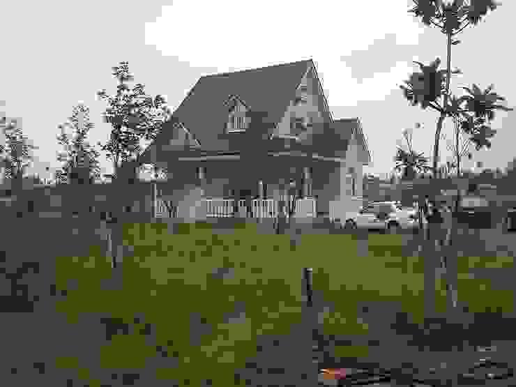 Rumah Gaya Country Oleh 晶莊工程有限公司 Country Metal