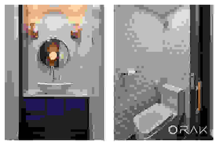 사당동 우성아파트 2차 / 35평형 아파트 인테리어 모던스타일 욕실 by 오락디자인 모던