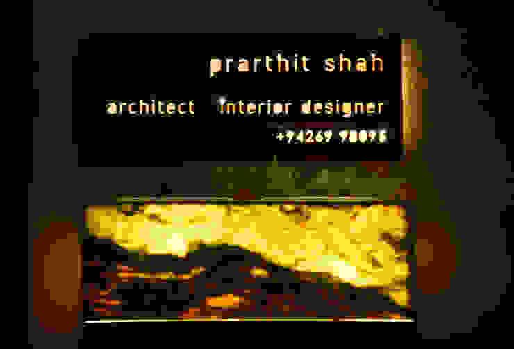 prarthit shah architects Study/officeAccessories & decoration