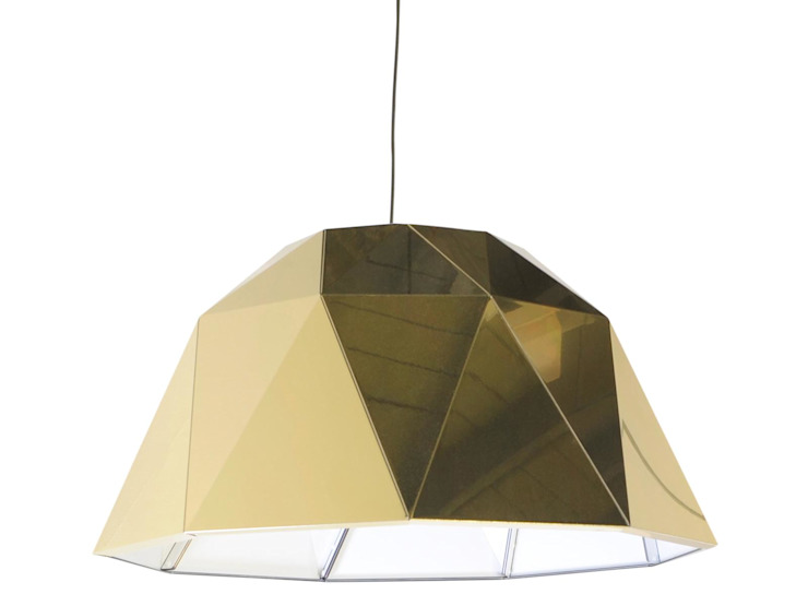 Carat gold Moderne studeerkamer van Studio Sander Mulder Modern Aluminium / Zink