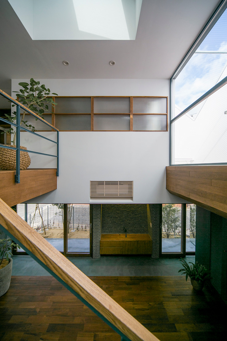 İskandinav Koridor, Hol & Merdivenler group-scoop architectural design studio İskandinav Masif Ahşap Rengarenk