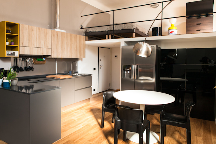 Kitchen by Easy Relooking, Industrial