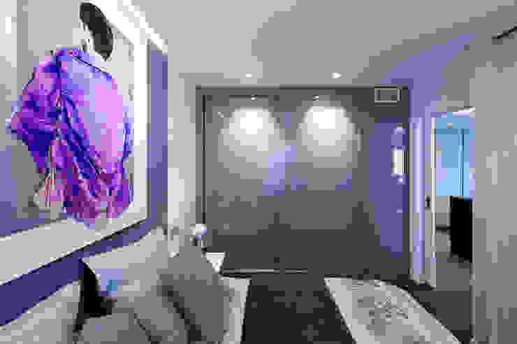 Arkin Camera da letto moderna MDF Viola/Ciclamino
