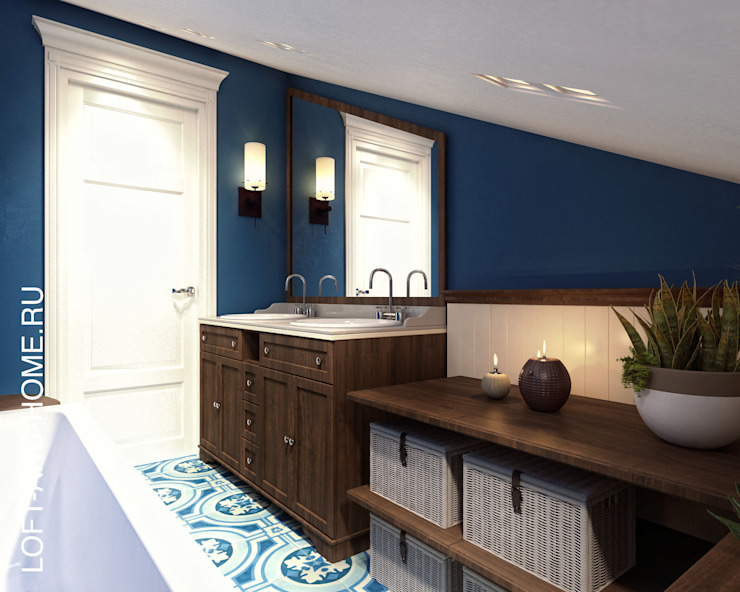 Bathroom by homify, Colonial