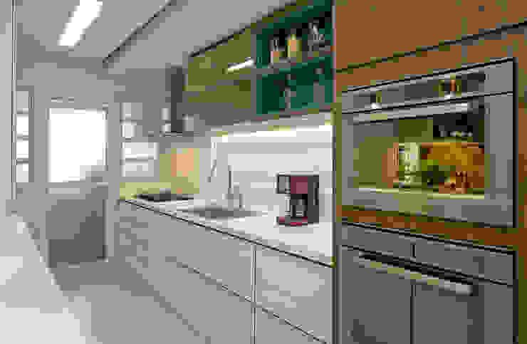 廚房 by Kris Bristot Arquitetura