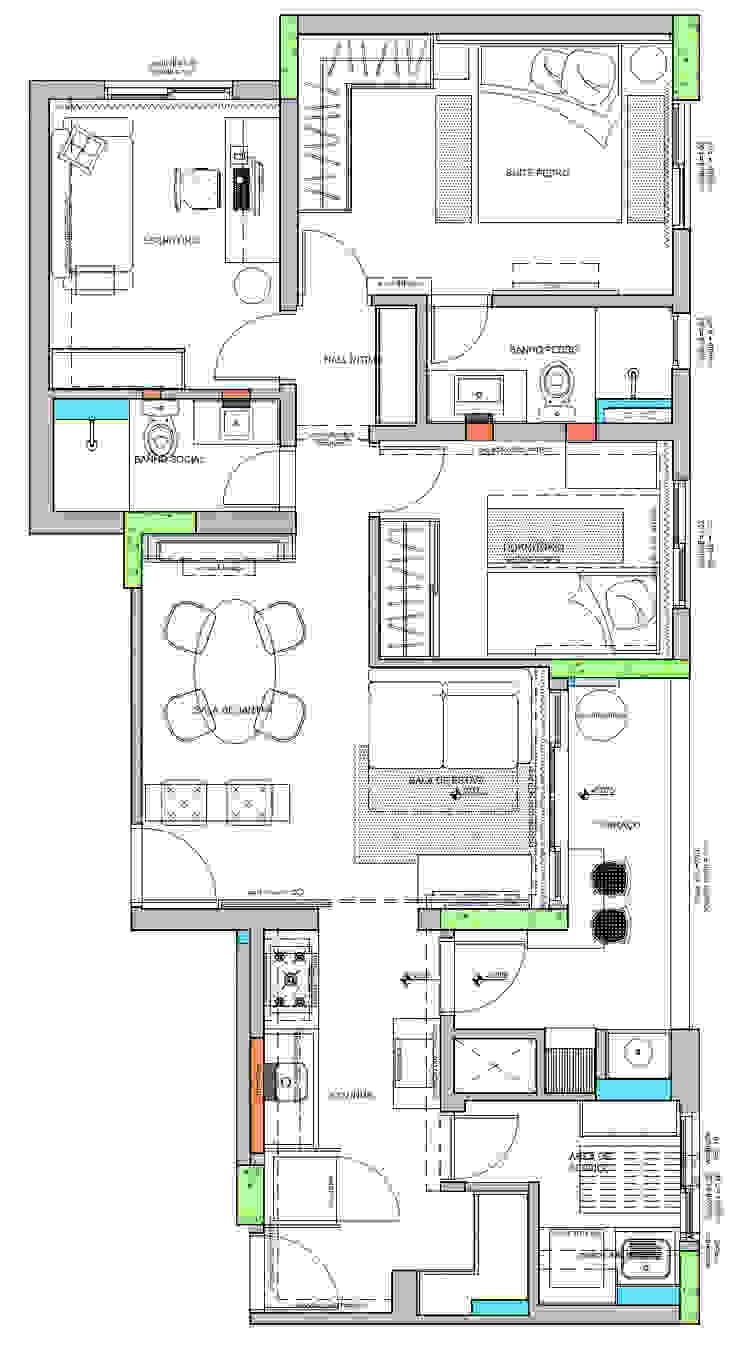 Planta Layout Espaço Alessandra Luz Casa & Jardim