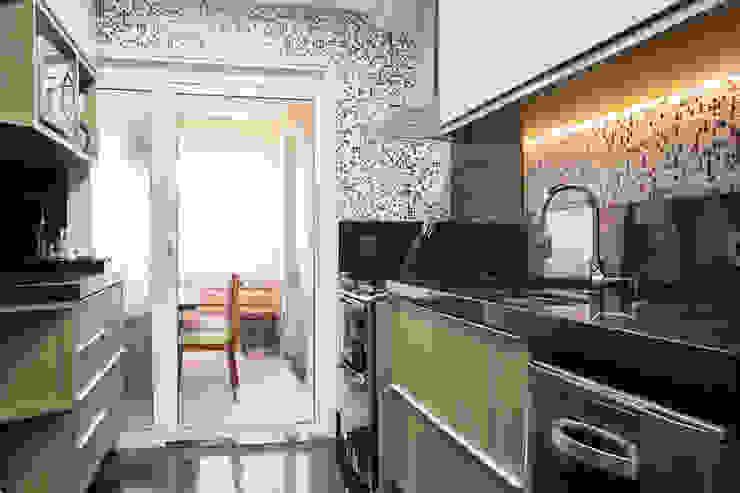 Cocinas de estilo ecléctico de Espaço Alessandra Luz Casa & Jardim Ecléctico