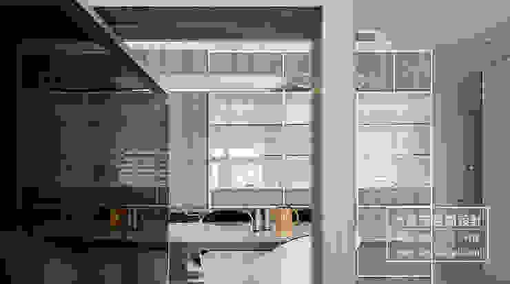 스칸디나비아 거실 by DYD INTERIOR大漾帝國際室內裝修有限公司 북유럽