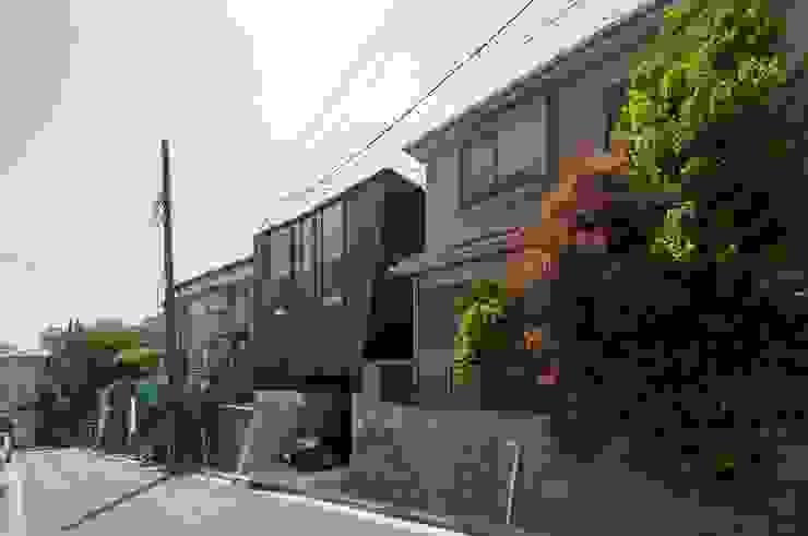 外観 モダンな 家 の 藤井伸介建築設計室 モダン