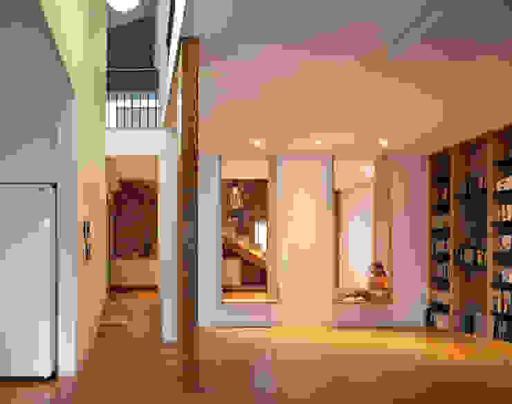 소통하는 집;LIFE_FACTORY通 모던스타일 미디어 룸 by 남기봉건축사사무소 모던