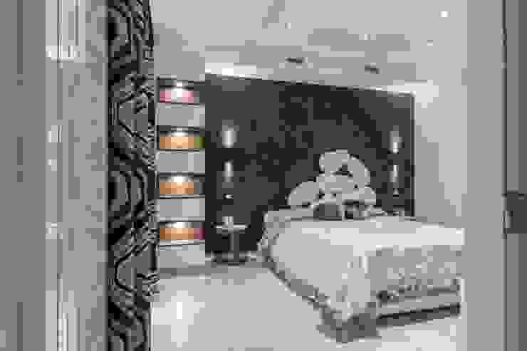 غرفة نوم تنفيذ ABBW angelobruno building workshop, حداثي