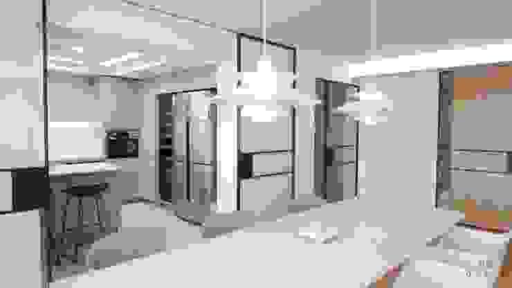 이촌동 'J' 아파트 스칸디나비아 거실 by 드웰디자인 북유럽