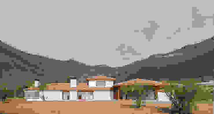 Casa Los Morros Casas de estilo colonial de Grupo E Arquitectura y construcción Colonial