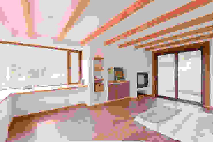 Casa Los Morros Grupo E Arquitectura y construcción Dormitorios de estilo colonial