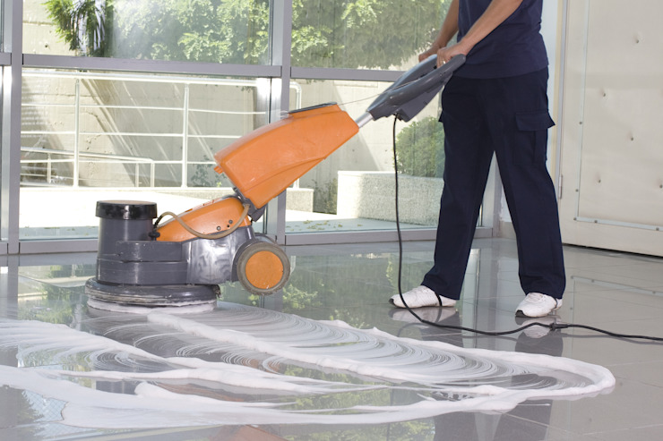 Office floor cleaning by Cleaning Services Johannesburg