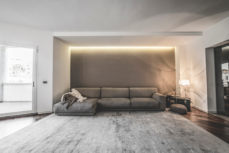 Woonkamer door MODO Architettura, Minimalistisch