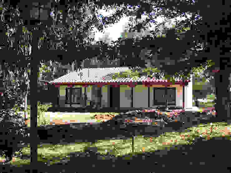Grupo E Arquitectura y construcción Rustic style house
