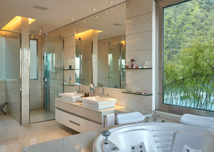 浴室 by homify, 現代風