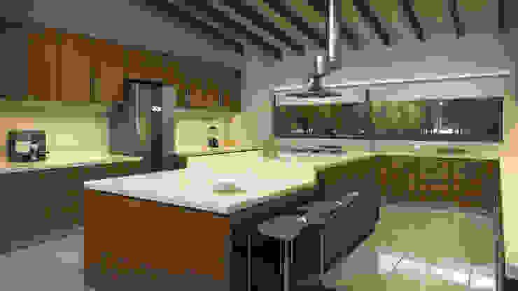 Residencia BGRR Valderrábano Arquitectos Cocinas modernas