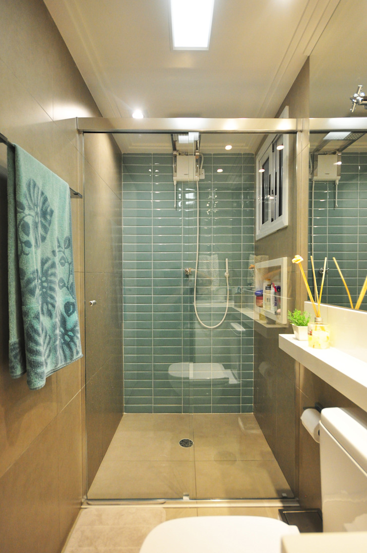 Eclectic style bathroom by Condecorar Arquitetura e Interiores Eclectic