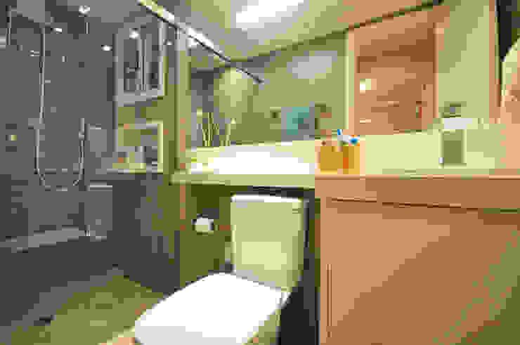 Apartamento Vila Mariana Condecorar Arquitetura e Interiores Banheiros ecléticos