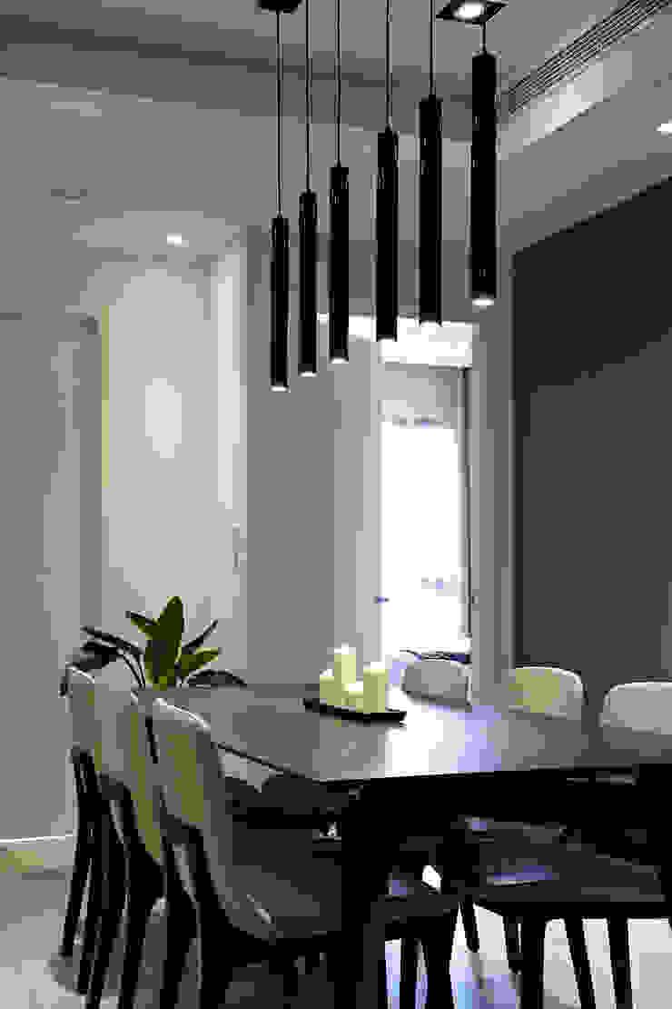 點燈 Scandinavian style dining room by 耀昀創意設計有限公司/Alfonso Ideas Scandinavian