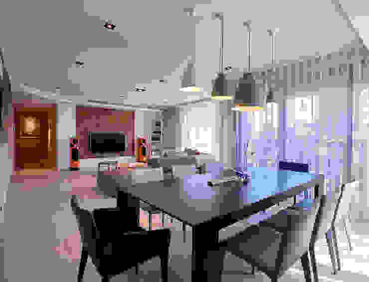 澄‧ 朗 陽光新境-金山南路李宅 根據 舍子美學設計有限公司 現代風