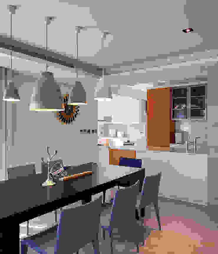 澄‧ 朗 陽光新境-金山南路李宅 現代廚房設計點子、靈感&圖片 根據 舍子美學設計有限公司 現代風