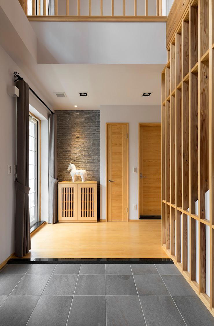 宜蘭健康屋 日式 亞洲風玄關、階梯與走廊 根據 耀昀創意設計有限公司/Alfonso Ideas 日式風、東方風