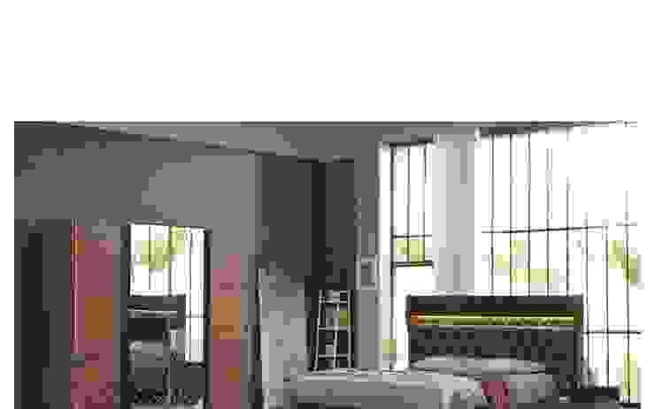 AMOR YATAK ODASI Modern Yatak Odası PAMEN MOBİLYA ( Öztürk Mobilya & Tasarım) Modern Sunta