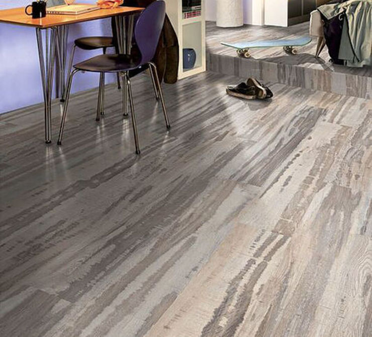 homify Country style walls & floors Engineered Wood White