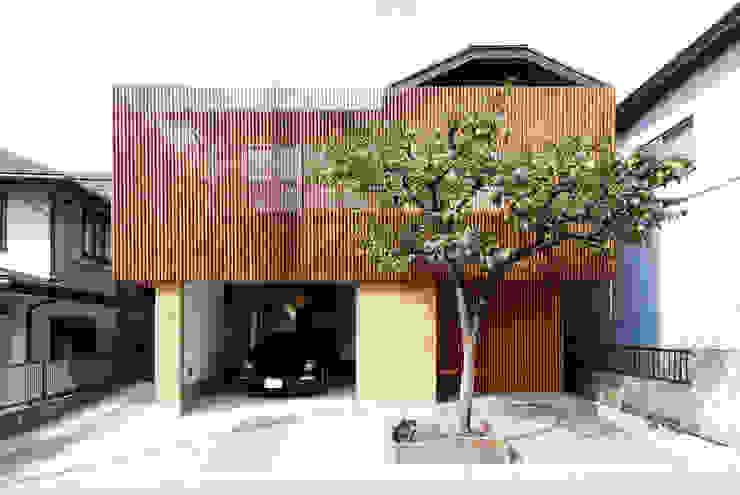 外観。 日本家屋・アジアの家 の 藤井伸介建築設計室 和風