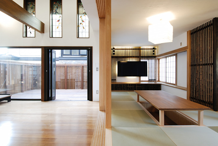 藤井伸介建築設計室 Asian style living room