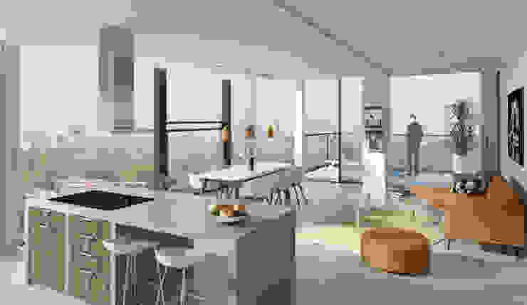 De Generaal Moderne woonkamers van Mei architects and planners Modern