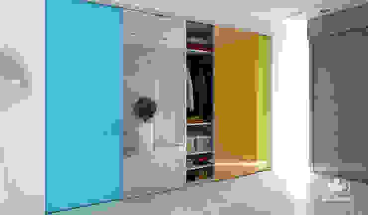 حديث  تنفيذ Komandor - Wnętrza z charakterem, حداثي زجاج