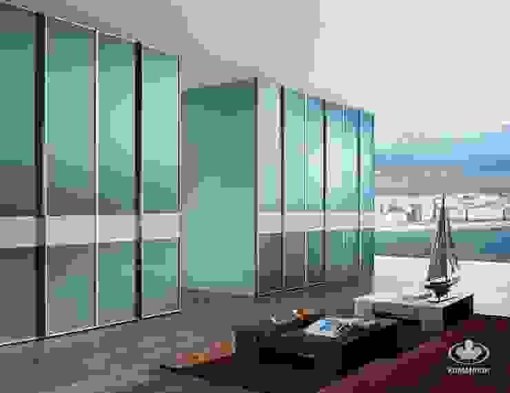 Komandor - Wnętrza z charakterem Living roomStorage Glass Blue